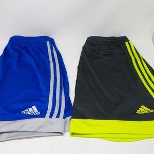 Bundle: Set of 2 Adidas basketball shorts